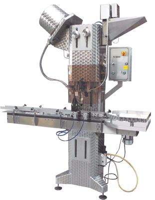 Automatický stroj na uzatváranie TV2000 kombinácia korkovača + PP uzatvárača