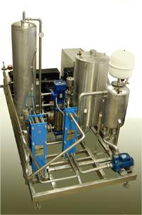 Prietokový pasterizátor piva