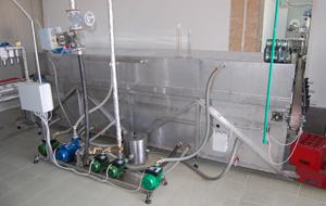 Tunelový pasterizátor piva