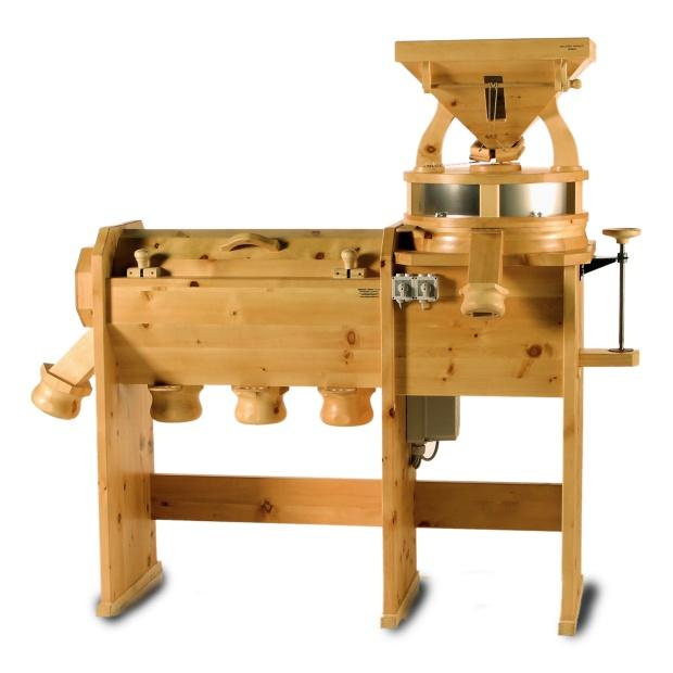Komerčný mlyn na múku s integrovanou presievačkou GMSM 30, 40, 50, 70