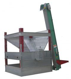 Zariadenia na vonkajšie skladovanie a sušenie orechov